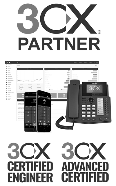 3CX Cloud Hosted IP Phone System